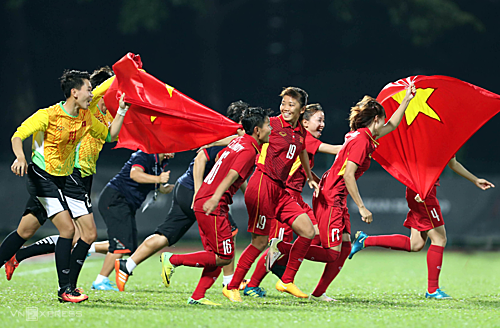 Vietnam enters the final round of women's Olympic football 2020