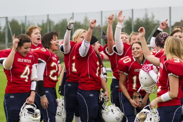 Great Britain Women's American Football team hope for gold at the European Championship