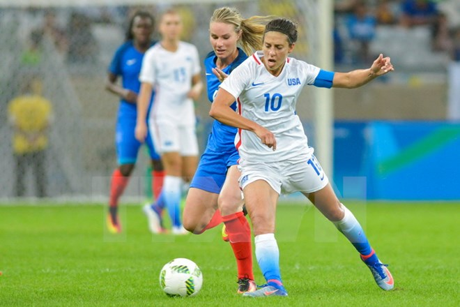 Struggling for equality in sport – Shock for American women's football